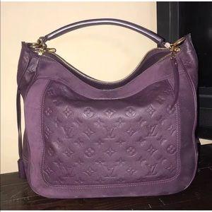 9c1f71d67f4bc Louis Vuitton Bags - Empreinte Suede Audacieuse MM Aube